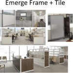 Emerge Frame + Tile Array