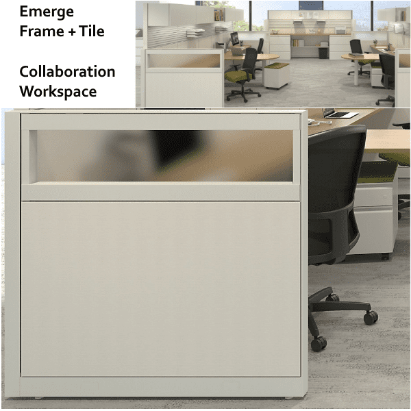 Maxon Emerge Frame and Tile Collaboration Workstations