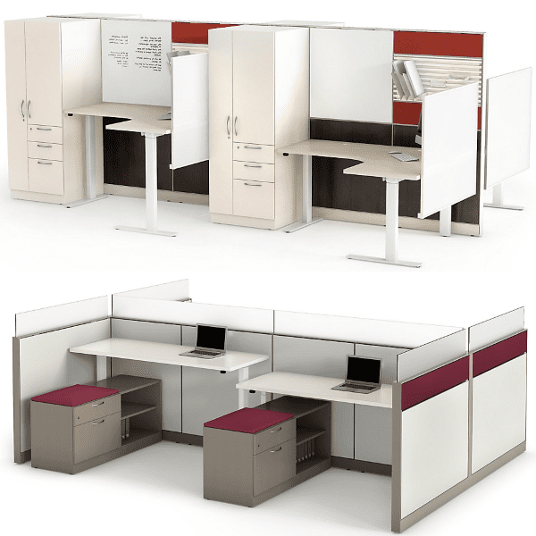 Maxon Emerge Height Adjustable Workstations