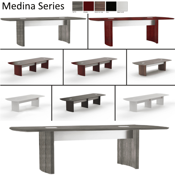 Mayline Medina Conference Tables in 5 Sizes