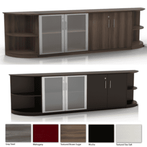 Medina 102 Inch Wide 3-Piece Low Wall Storage