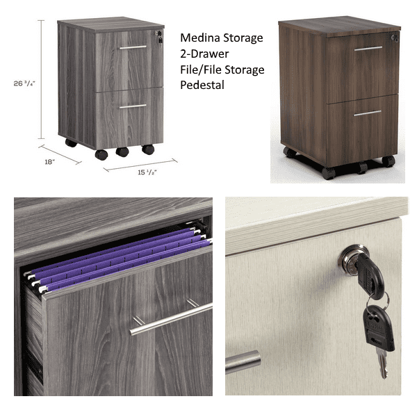 Medina 2-Drawer Features