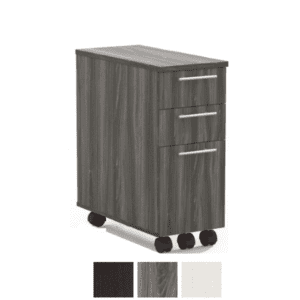 3-Drawer Half File Mobile Cabinet