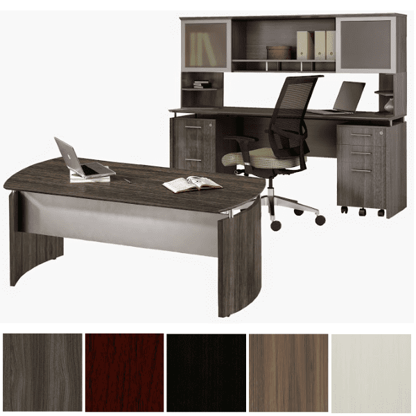 Medina™ Curved Executive Desk Suite