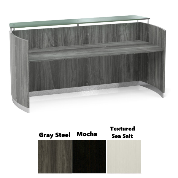 MNRSLGS Reception Desk Interior - 3 Finish Colors