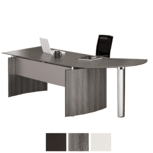 Curved Extension Modern Desk - Medina