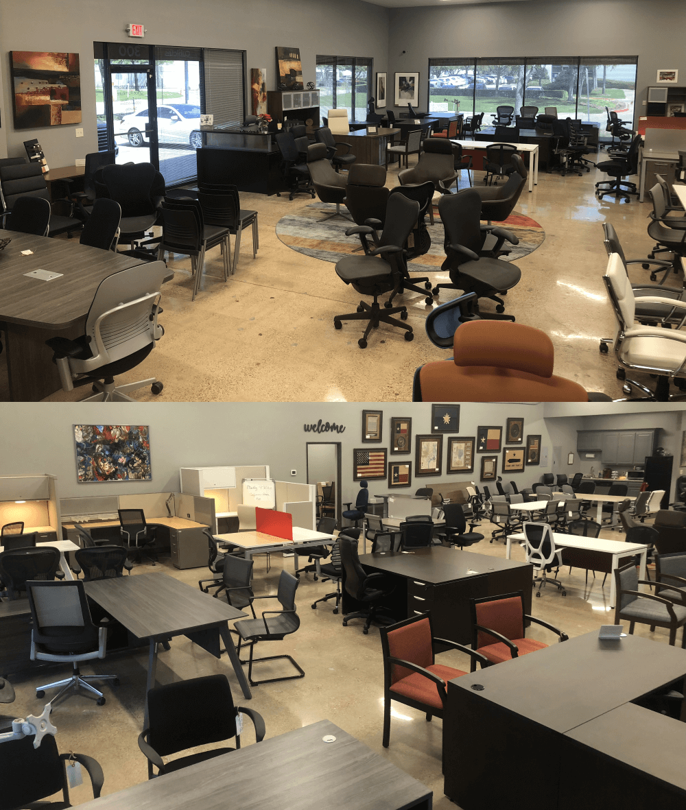 dallas office furniture showroom