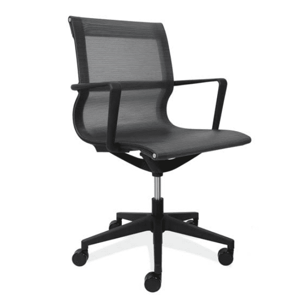 All Black Mesh Office Chair