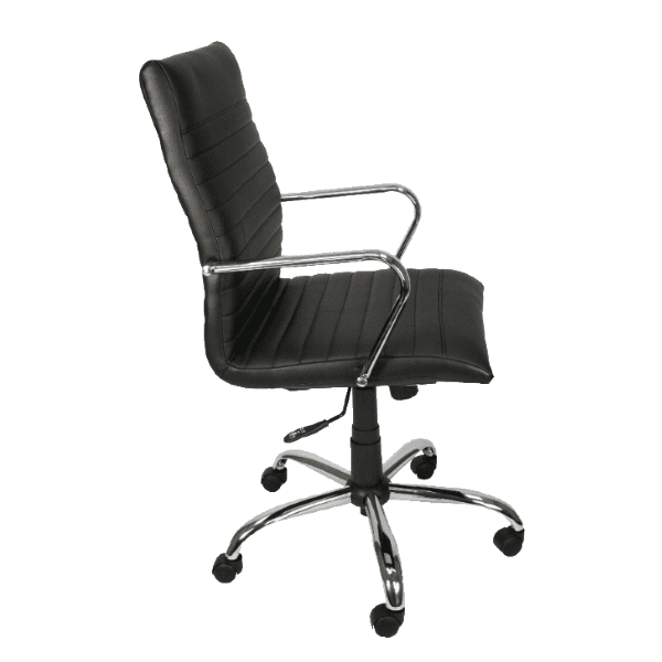 AQ-4609 Padded + Ribbed Contemporary Office Chair