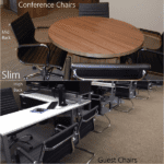AQ from Express Slim AQ-3507 & AQ-3508 & 3509 Slim Conference and Guest Chairs