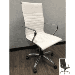 Eames High Back Ribbed Chair