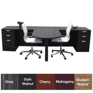 Partners Desk for Two