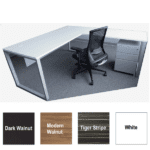 Express Lair Modular L-Shape Desk with Right Return
