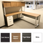 Express Lair L-Shape Benching Workstation