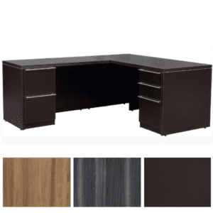 Status Series L-Shape Desk Left Handed Return