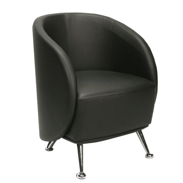 HU-953 Club Chair - Black