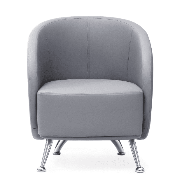 HU-953 Club Chair - Facing - Gray