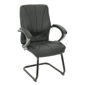 KB-9621-C Black + Titanium Guest Chair