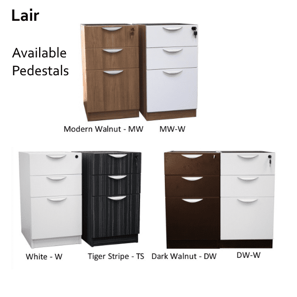 Lair 3-Drawer Box Box File Storage