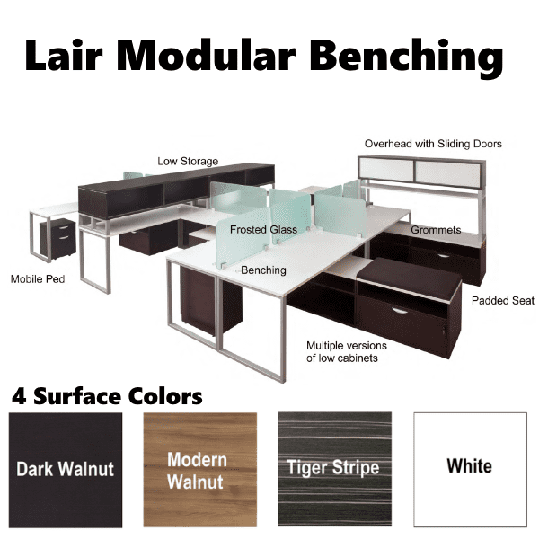 Lair Modular Benching Series