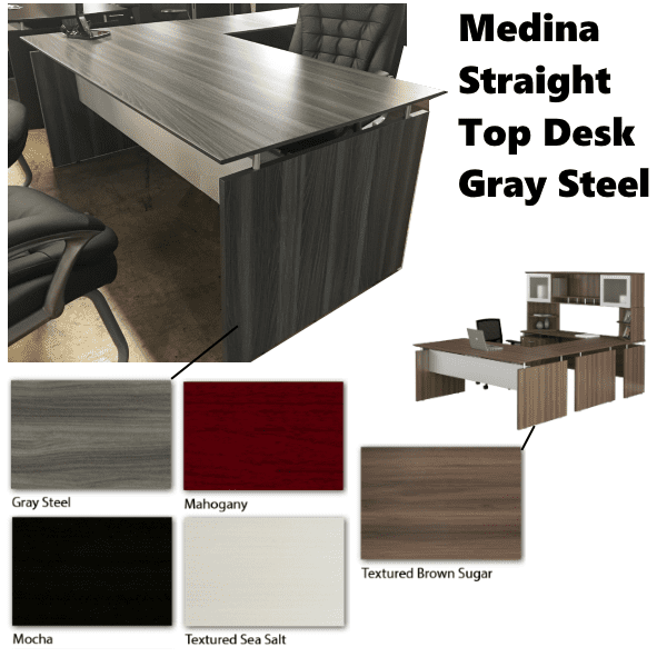 Mayline Medina- 5 Colors - Gray Steel