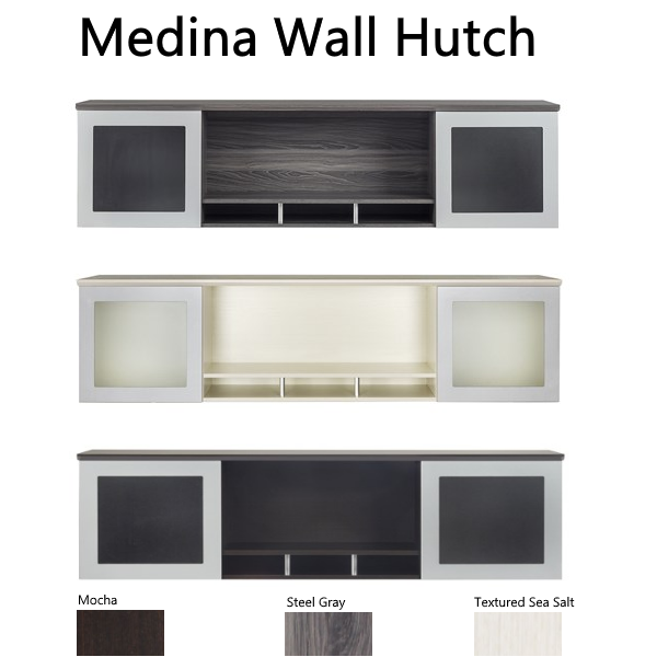 Medina Wall Mount Hutch