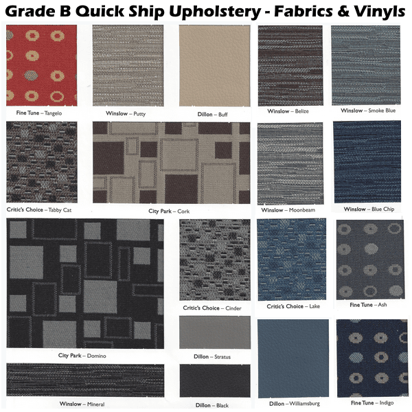 Quick Ship Fabrics & Vinyls
