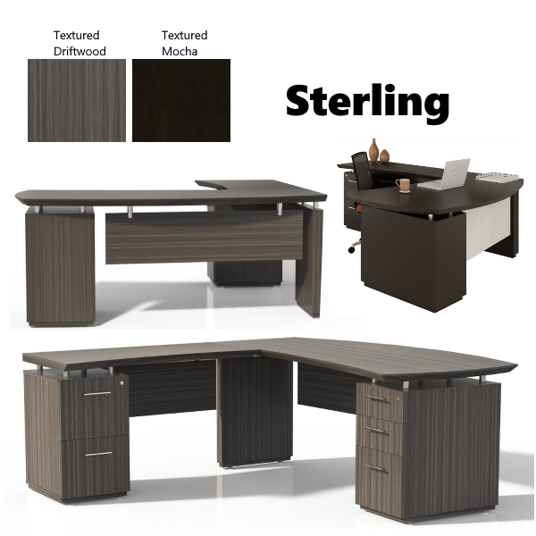 Sterling L-Shaped Desk from Safco