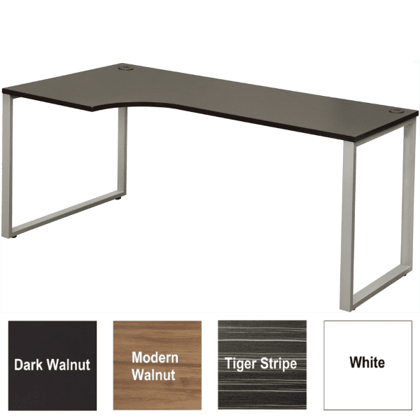 Express Lair Curved Interior Surface Desk