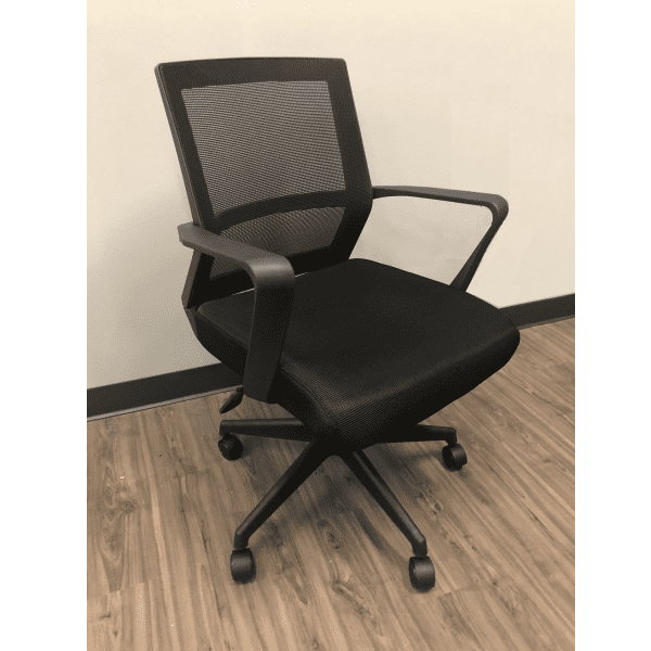 Budget Black Low Back Mesh Task Chair