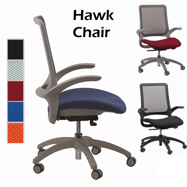 Eurotech Hawk Task Chair - 5 Colors