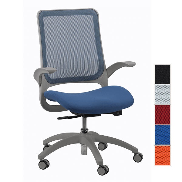 Eurotech Hawk Task Chair - Blue - 5 Colors