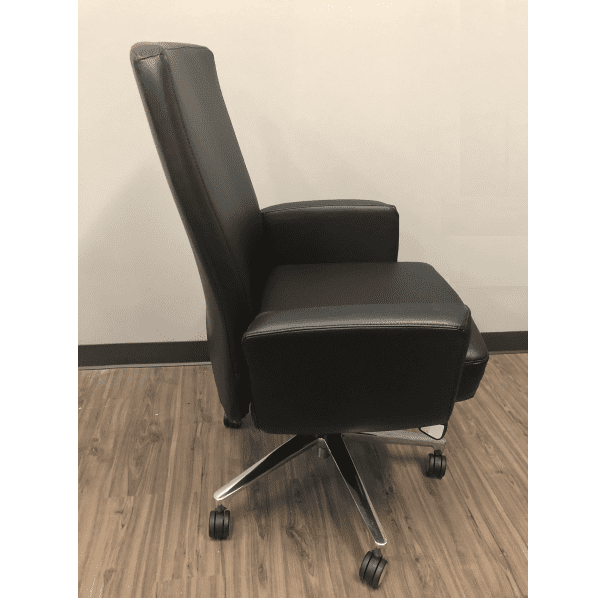 La-Z-Boy® Executive Chair - Black - Side