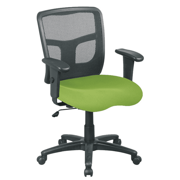 Lime Green Fabric Molded Foam Seat Cushion