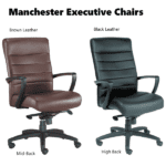 Manchester Executive Mid and High Back Executive Chairs
