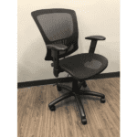 OFD-500M-BLK – Mesh It Generation II Task Chair with Mesh Back and Mesh Seat