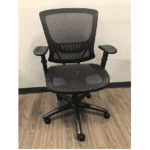 OFD500M-BLK – Mesh It Generation II Task Chair with Mesh Back and Mesh Seat - Front