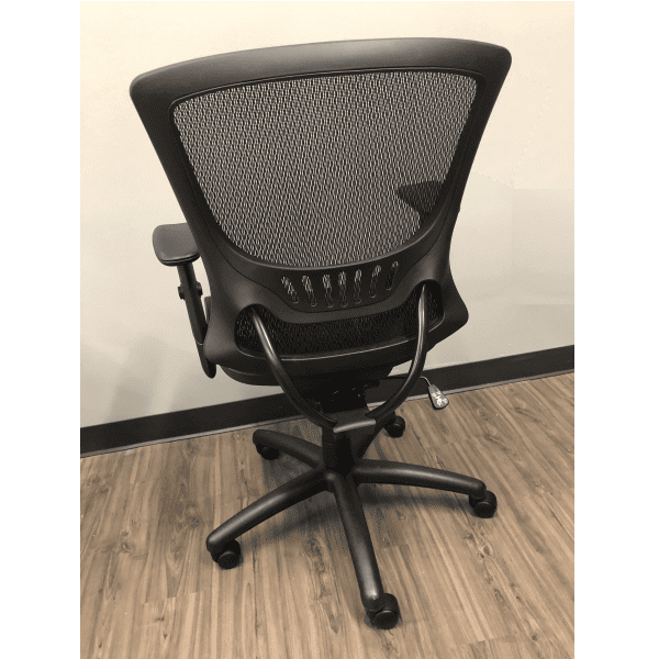 OFD500M-BLK – Mesh It Generation II Task Chair with Mesh Back and Mesh Seat - Rear