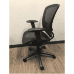 OFD500M-BLK – Mesh It Generation II Task Chair with Mesh Back and Mesh Seat - Side