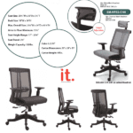 Twyst Series - EM5200-BLACK - Headrest Option