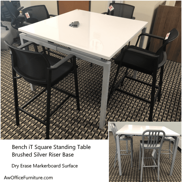Writable Standing Height Table