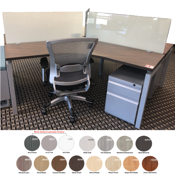 Bench iT 120 Degree Workstations
