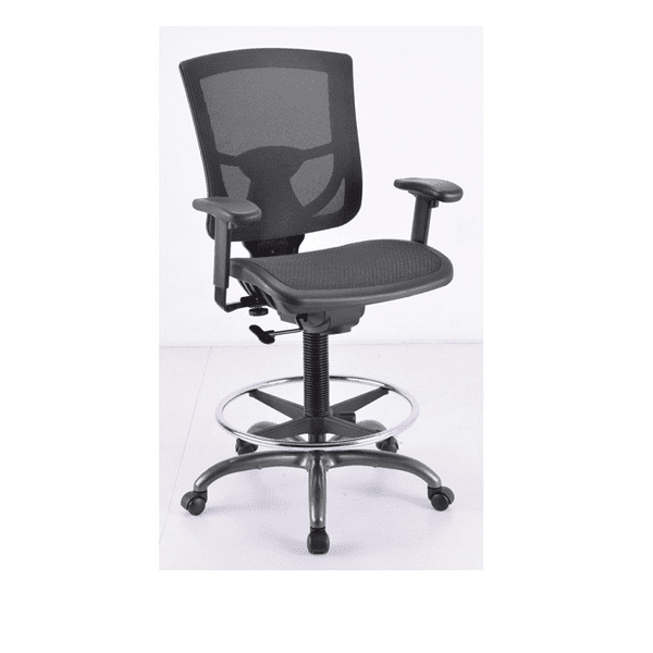 Black Mesh Seat and Back