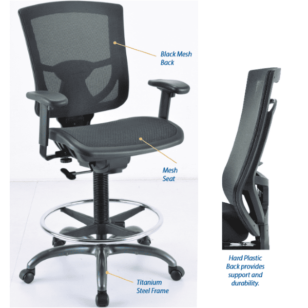 CoolMesh Pro Stool - Specification
