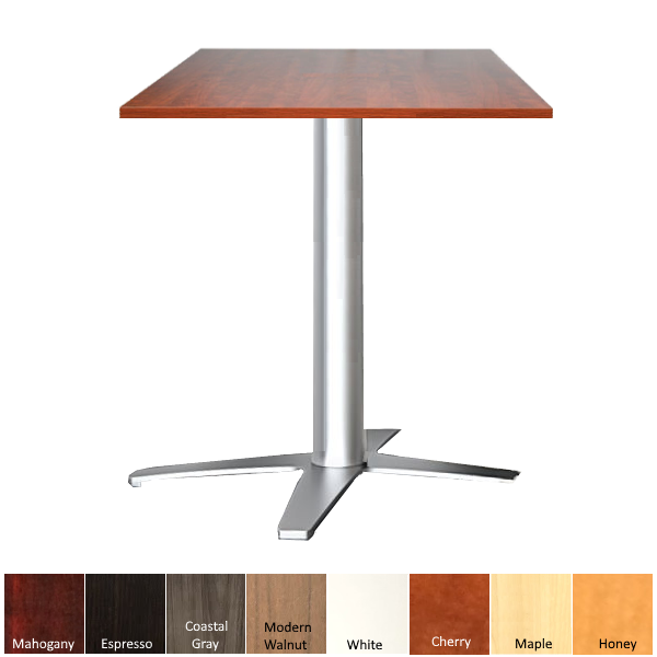 Standing Height Table with Square Top