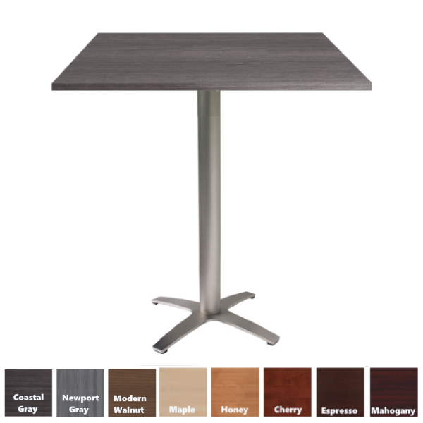 Square Top Standing Table