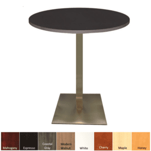 Round Bar Cafe Height Table