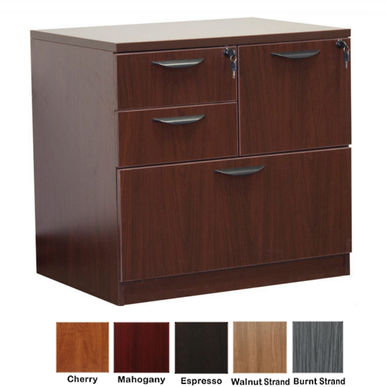 Ultra 4-Drawer Combination Lateral File Cabinet