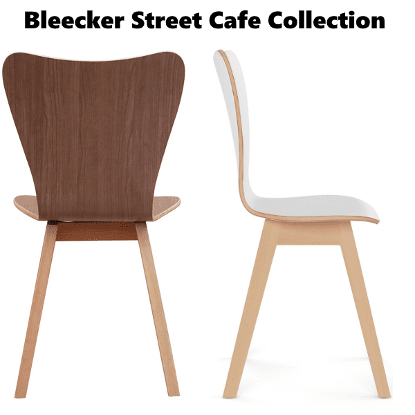 COE Bleecker Street Cafe Series Chairs