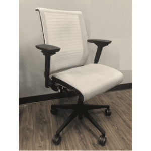 Steelcase Think Chair - White Mesh